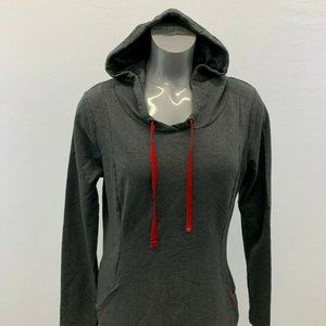 Roots Hoodie Women's Large Gray Pullover